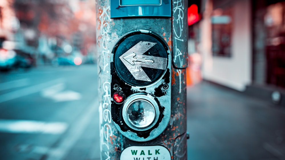 pedestrian crossing button