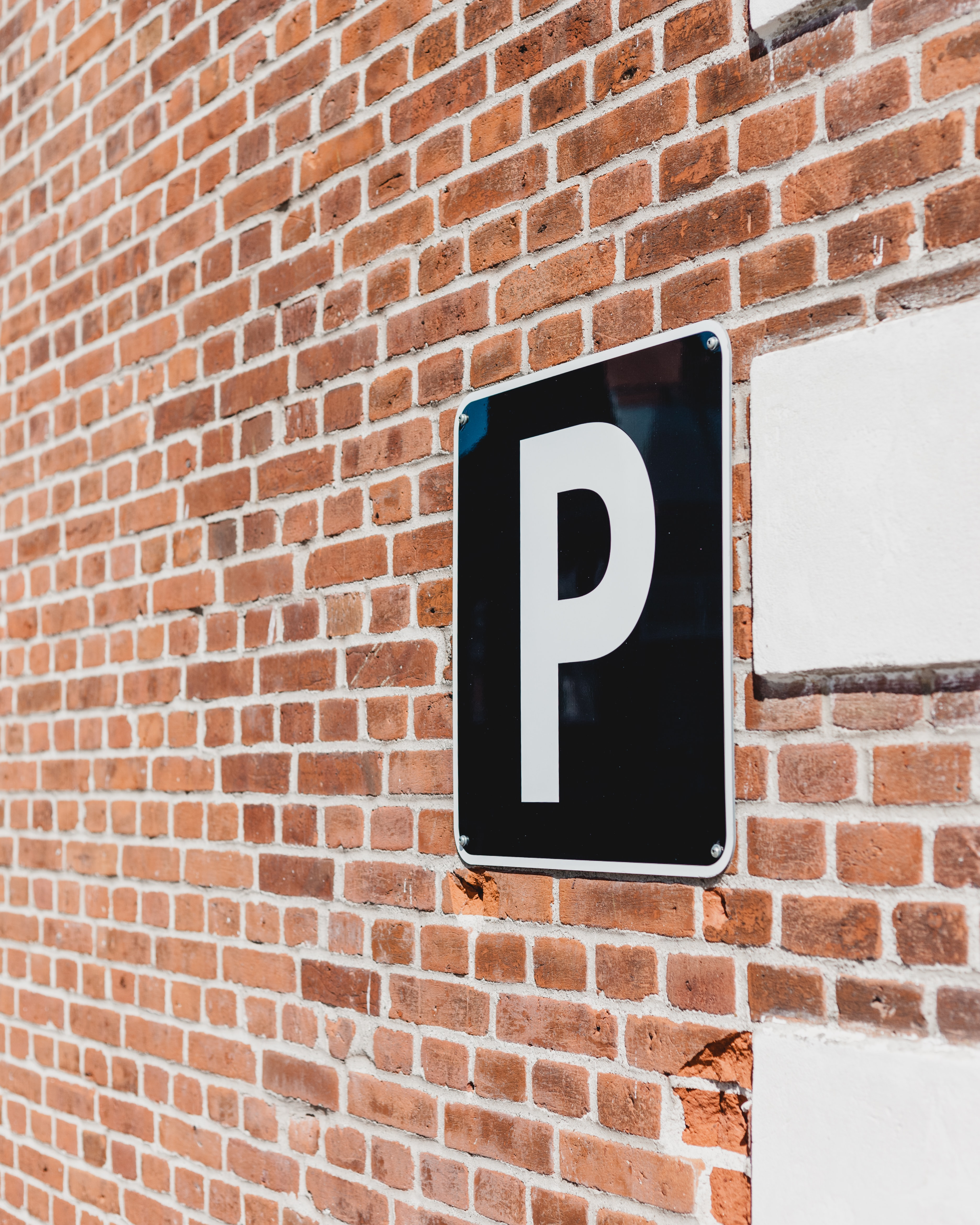 photo of parking signage