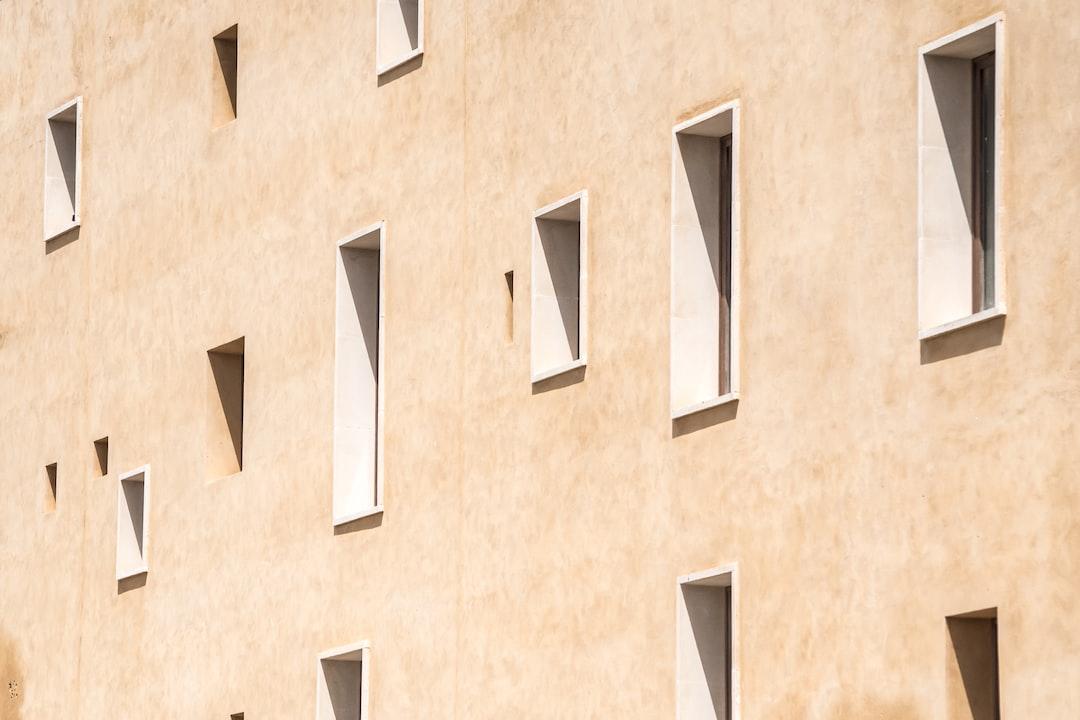 Windows in Dalt Vila, Ibiza