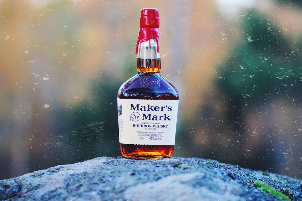 photo of Maker's Mark bottle