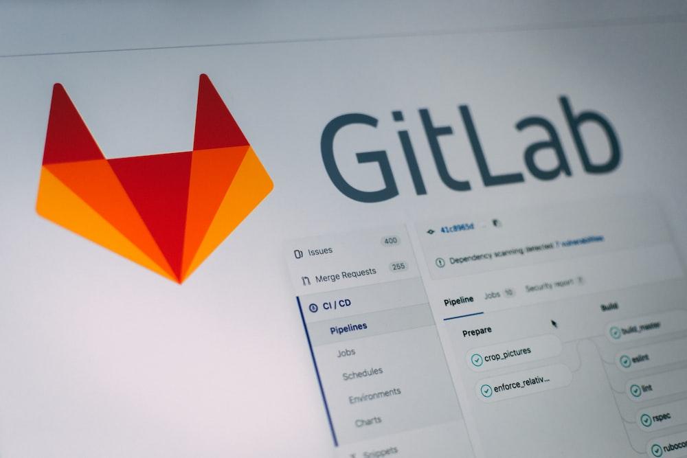 Gitlab application screengrab