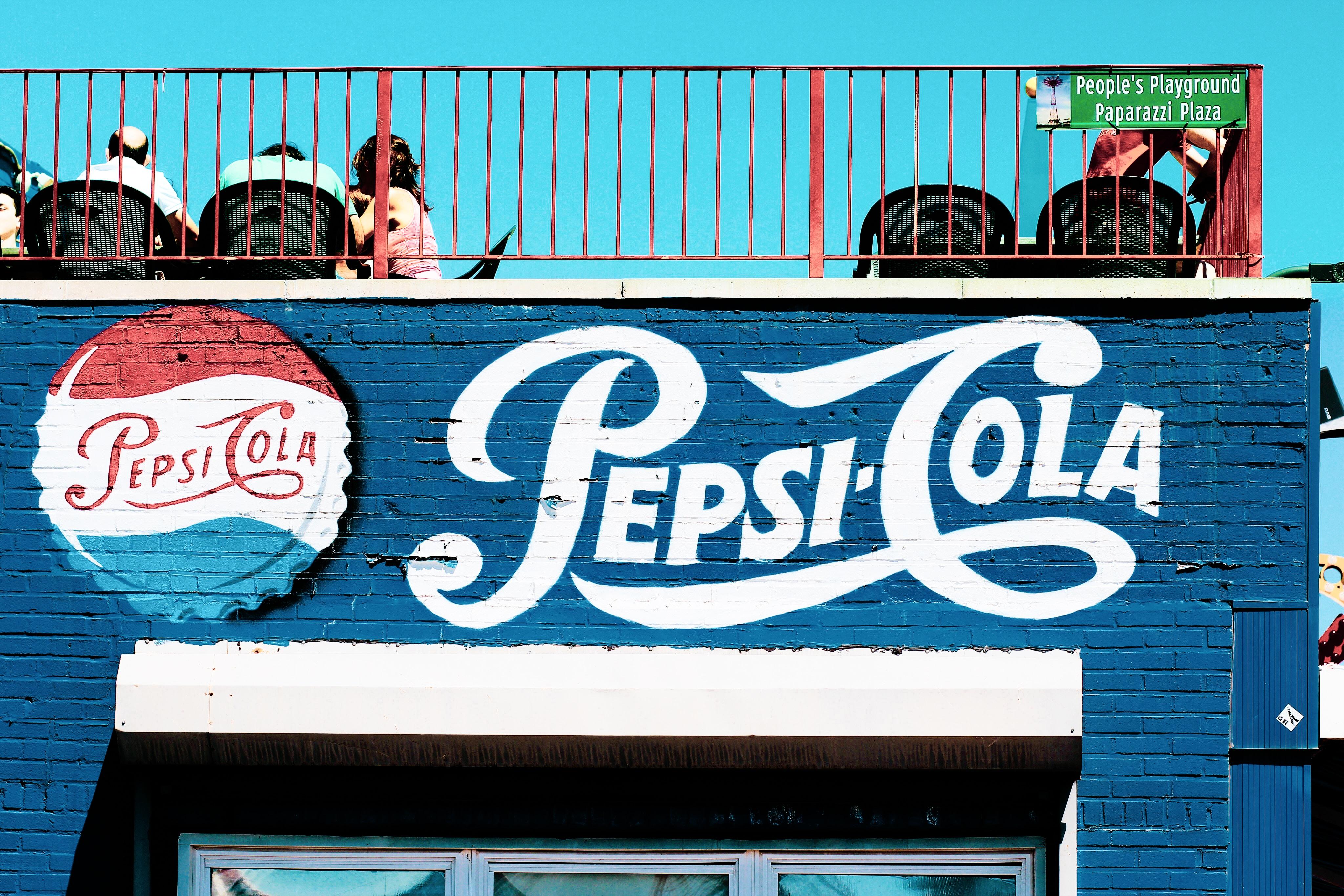 Pepsi-Cola mural