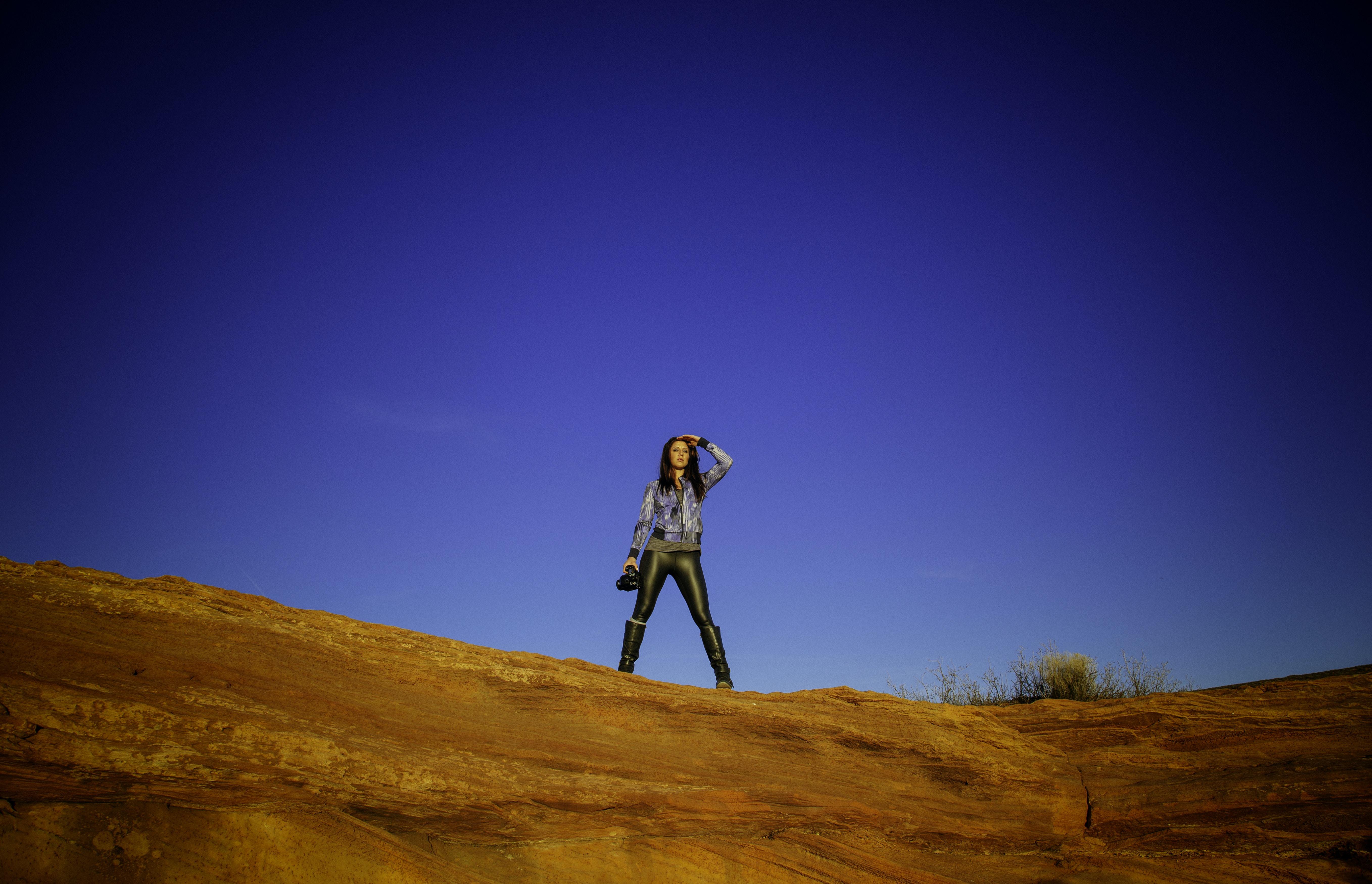 woman standing standing outdoor