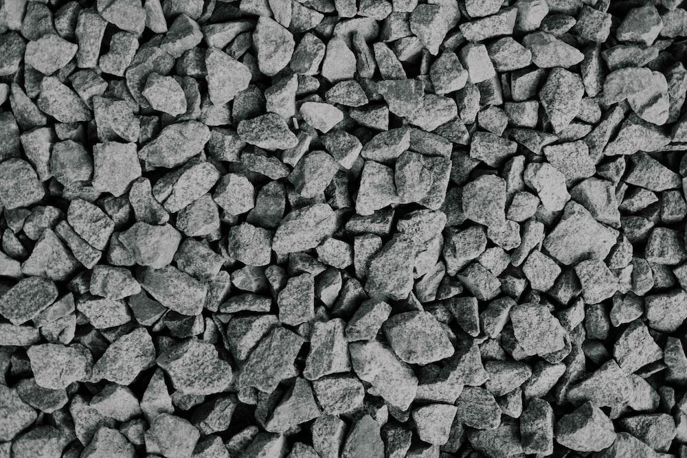 photo of gray rocks