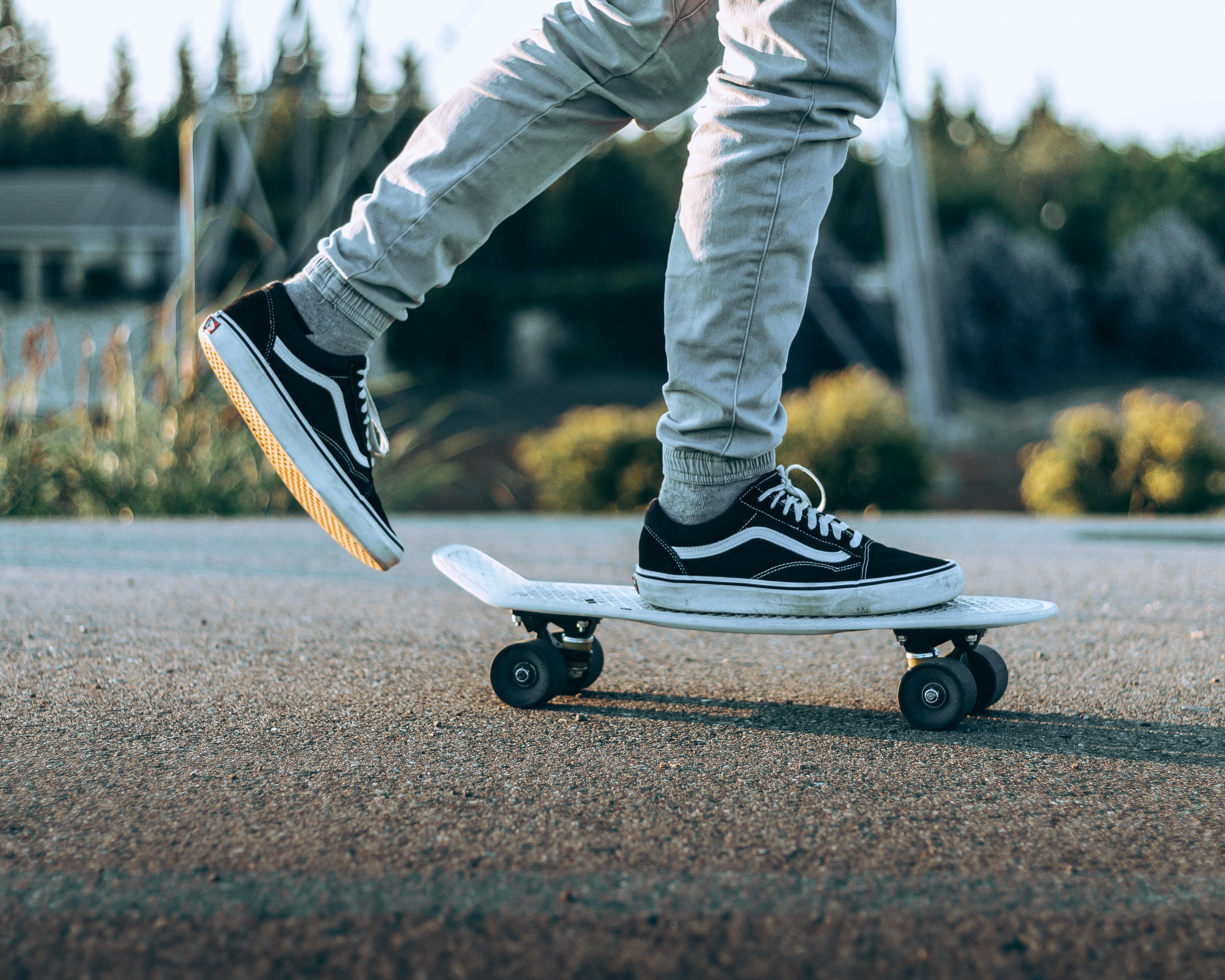 person skateboard