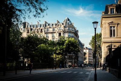 Park in the 3rd Arrondissement of Paris