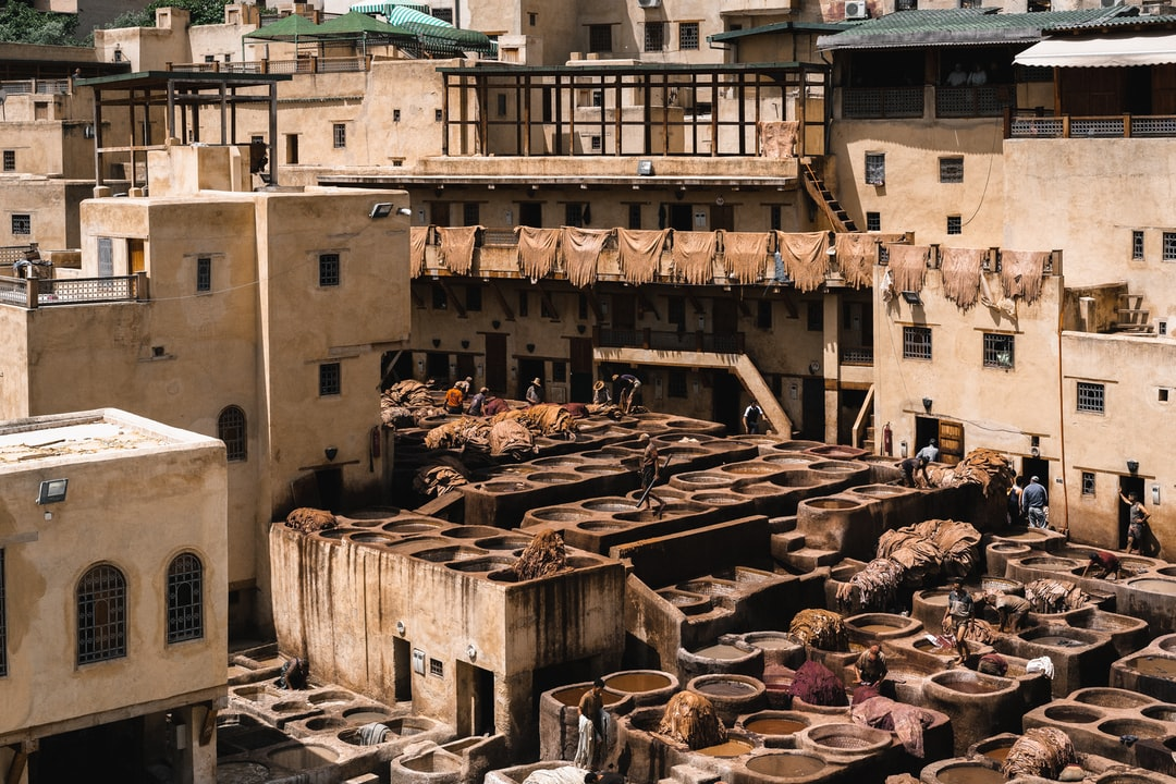 Chouara Tannery in Fez, Morocco