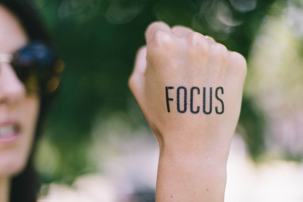 Focus on your self