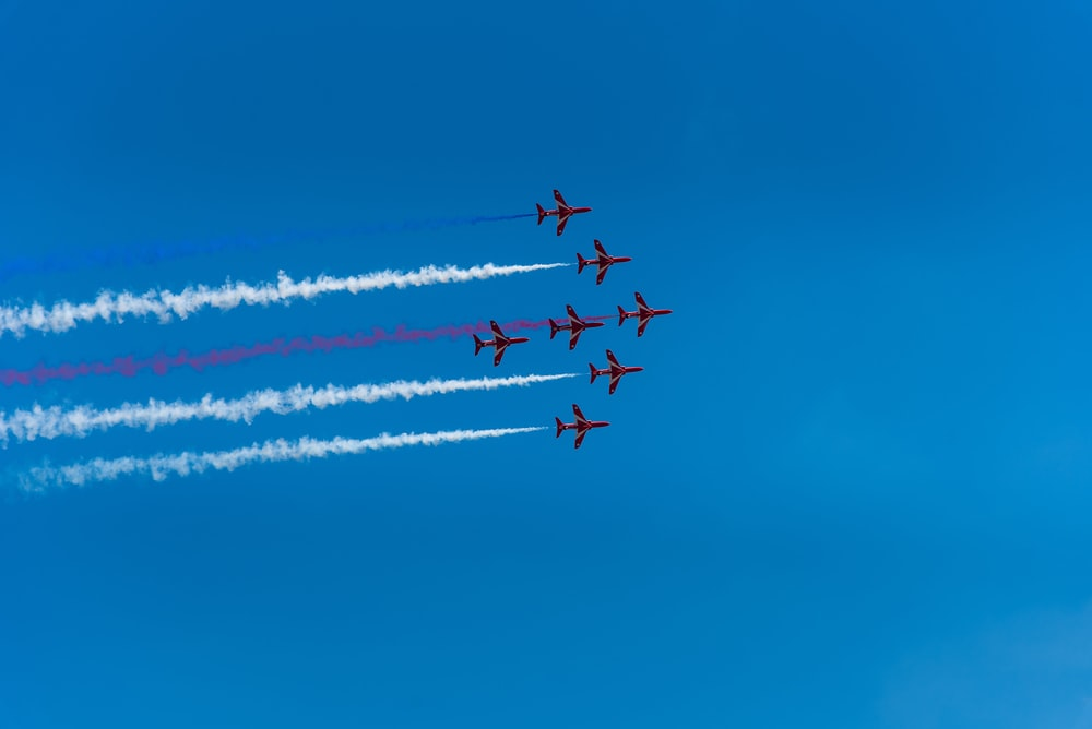 six aircraft