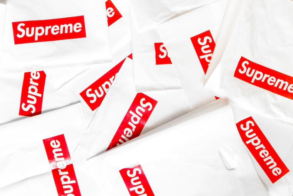 Supreme sticker lot