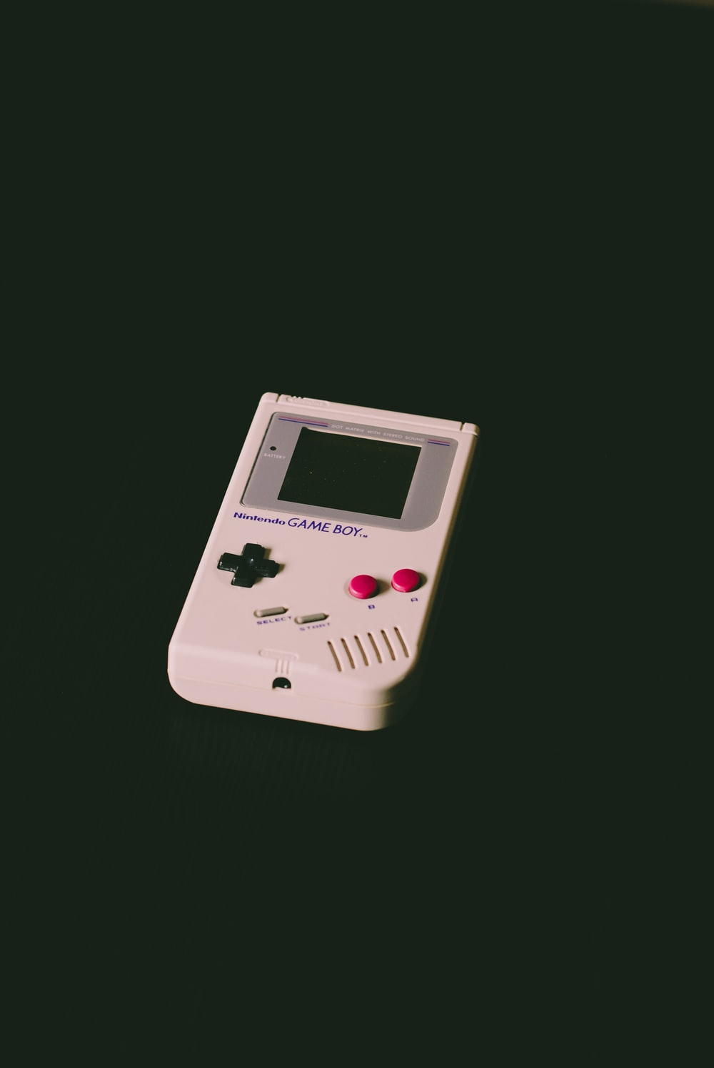 turned off Nintendo Game Boy