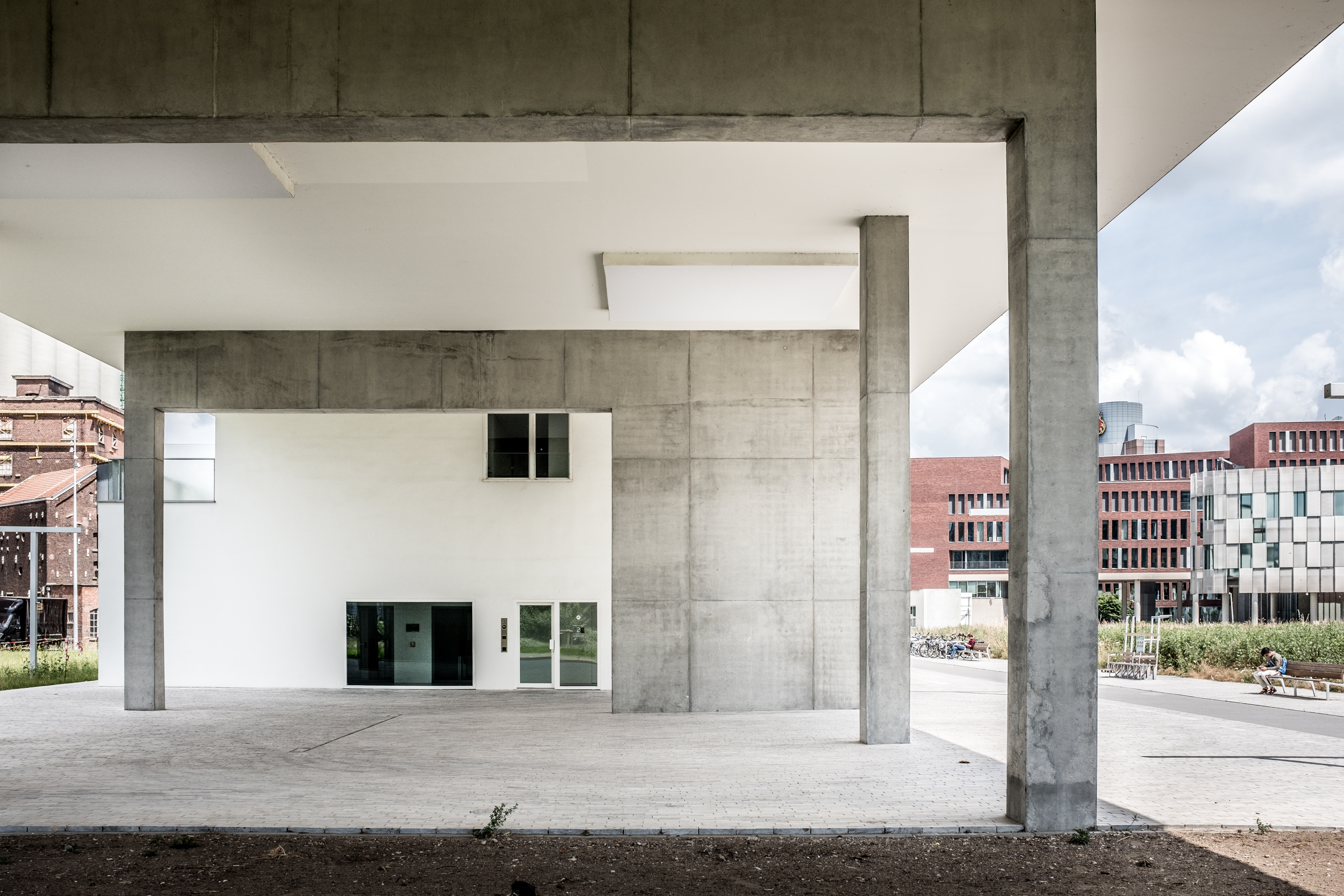 white and brown concrete building