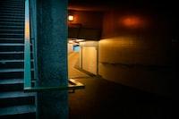 ground floor with lights turn on