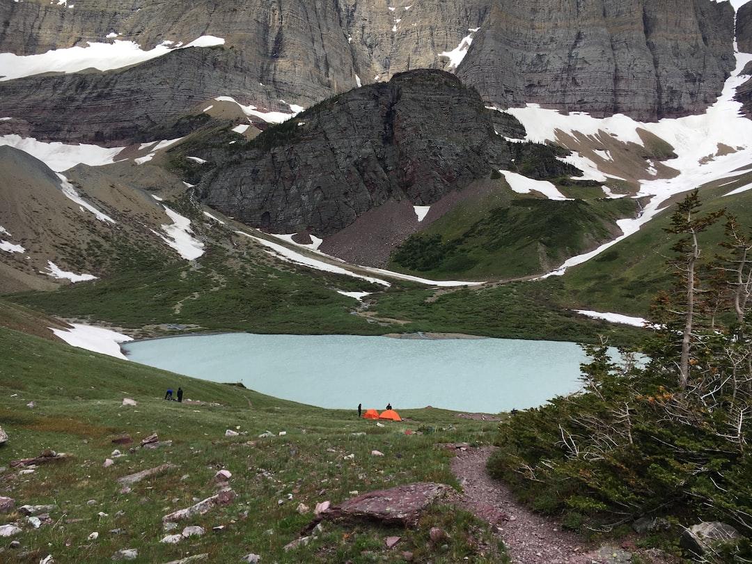 Cracker Lake, Glacier National Park, Montana, USA.