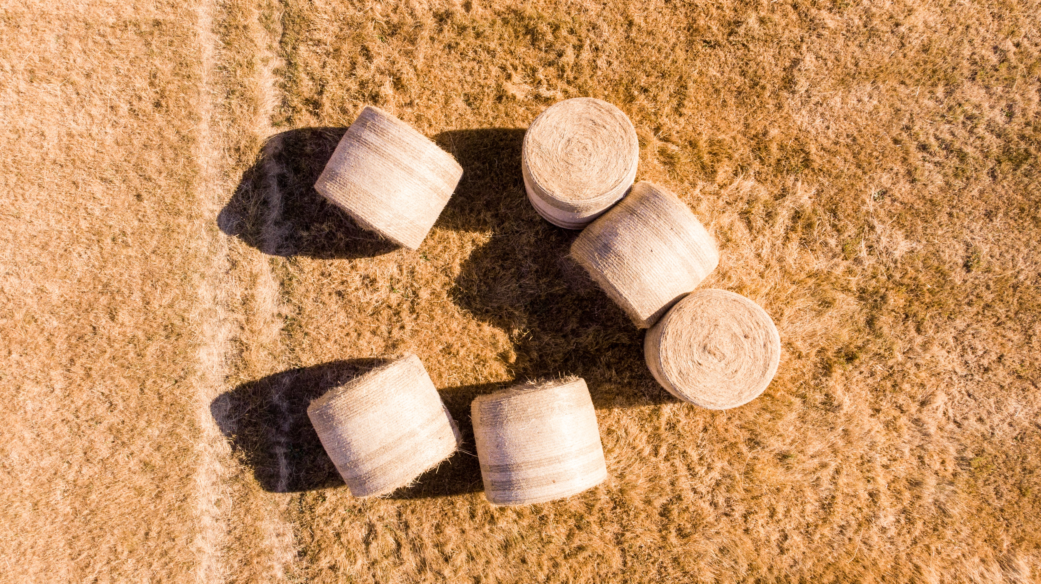six brown bottle stoppers on brown carpet
