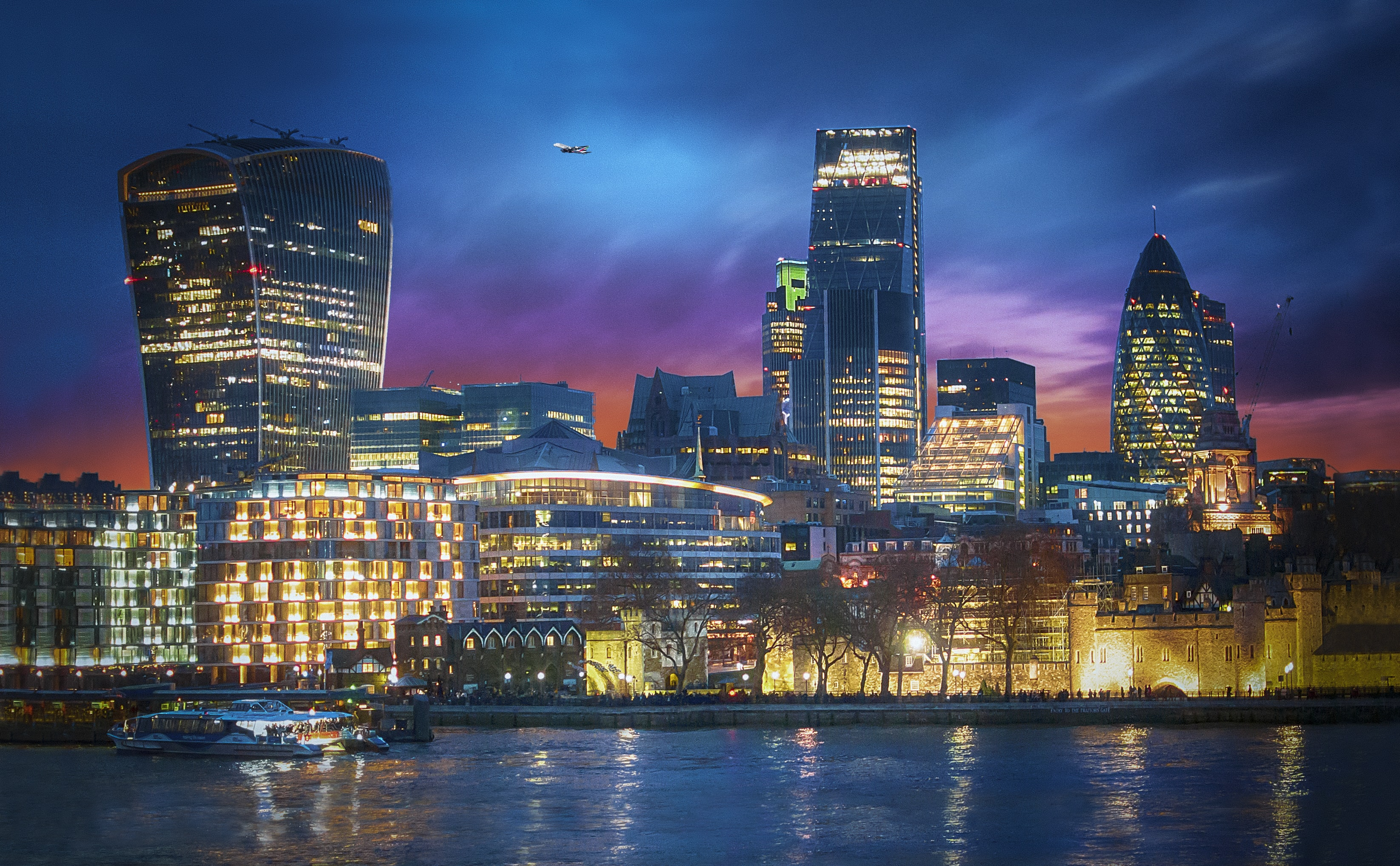landscape photography of city skyline