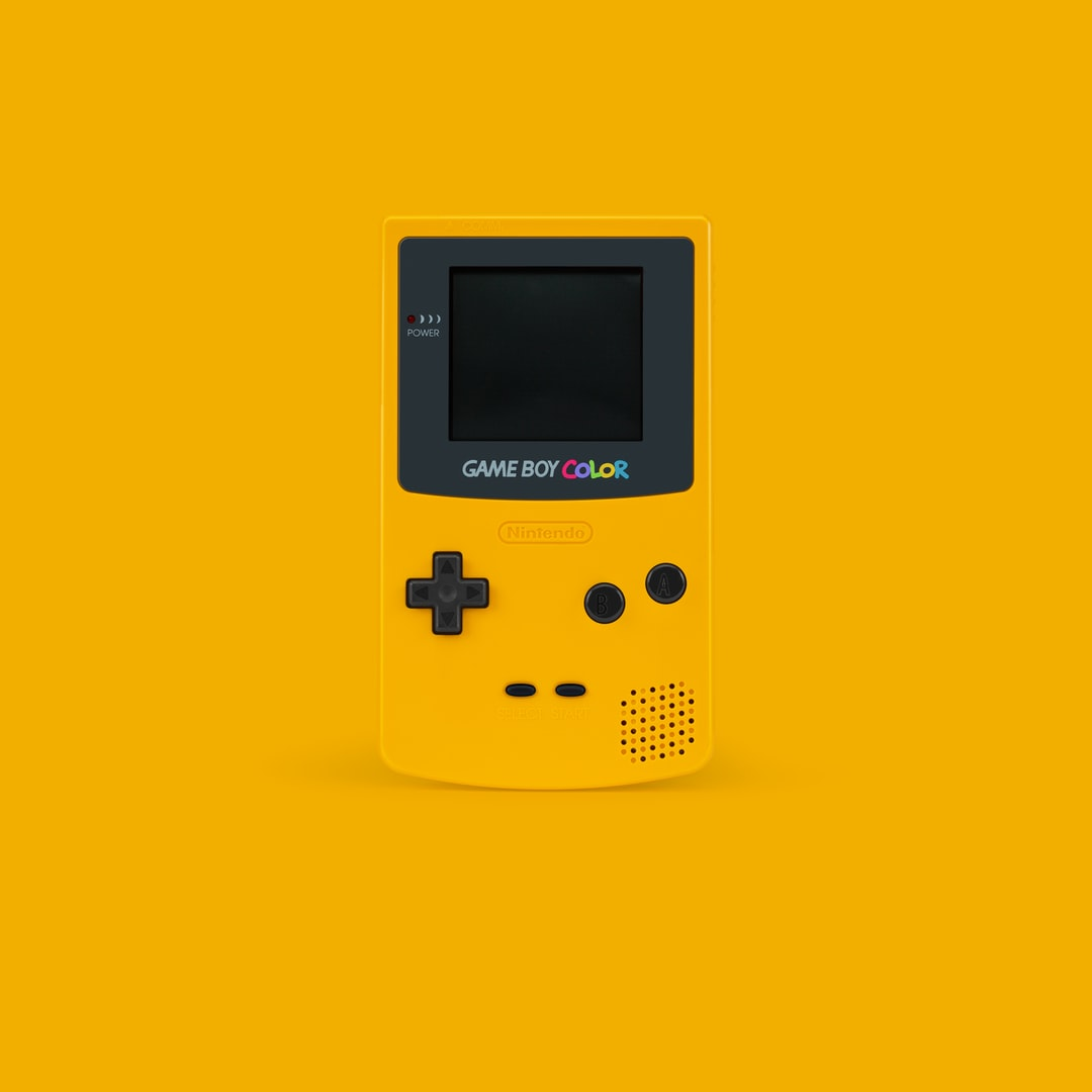 Yellow Gameboy