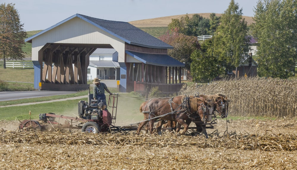 Farming in Walnut Creek Ohio | HD photo by Randy Fath