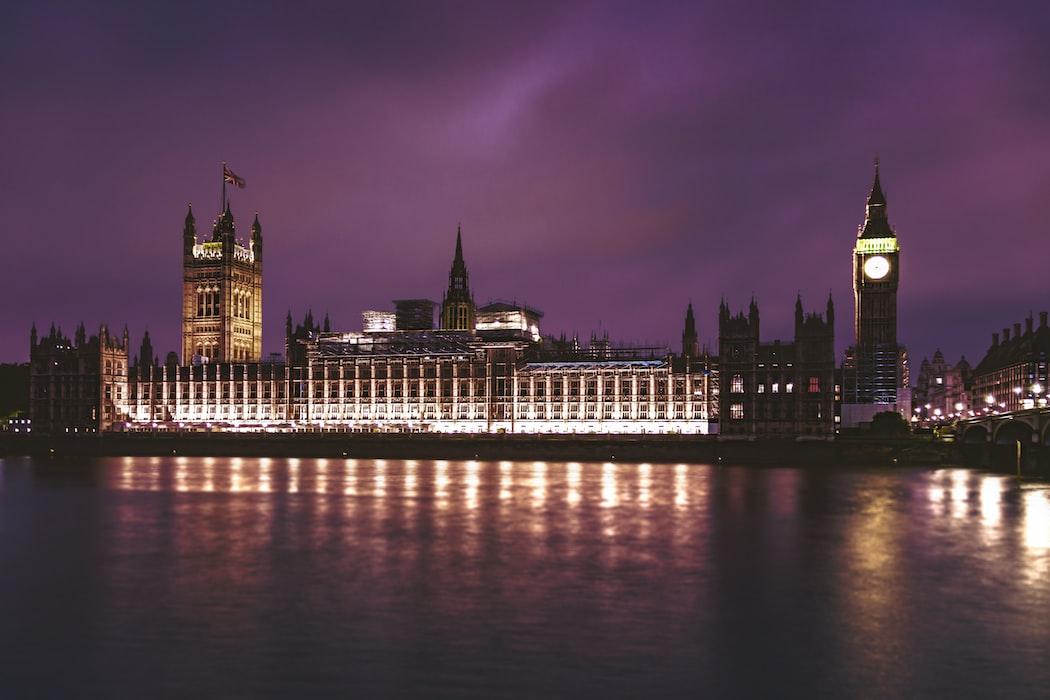 Westminster Abbey - London in november