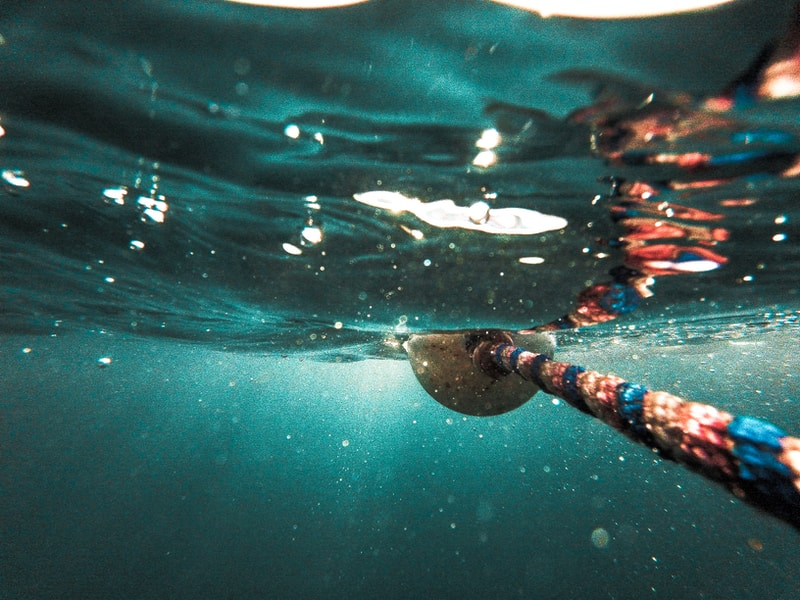 rope underwater