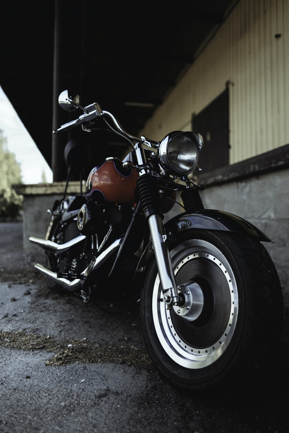 red bopper motorcycle