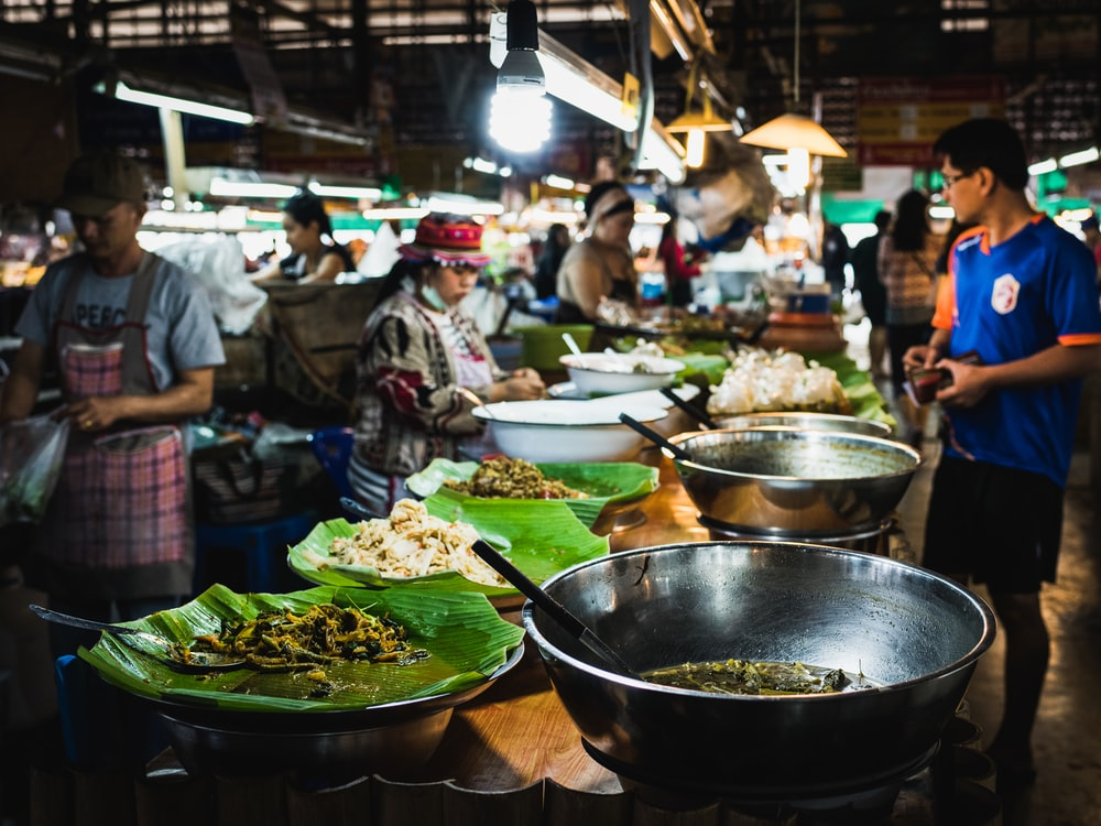 Best food market in Chiang Mai