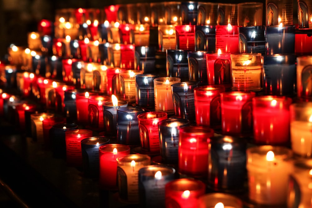 pile of candles