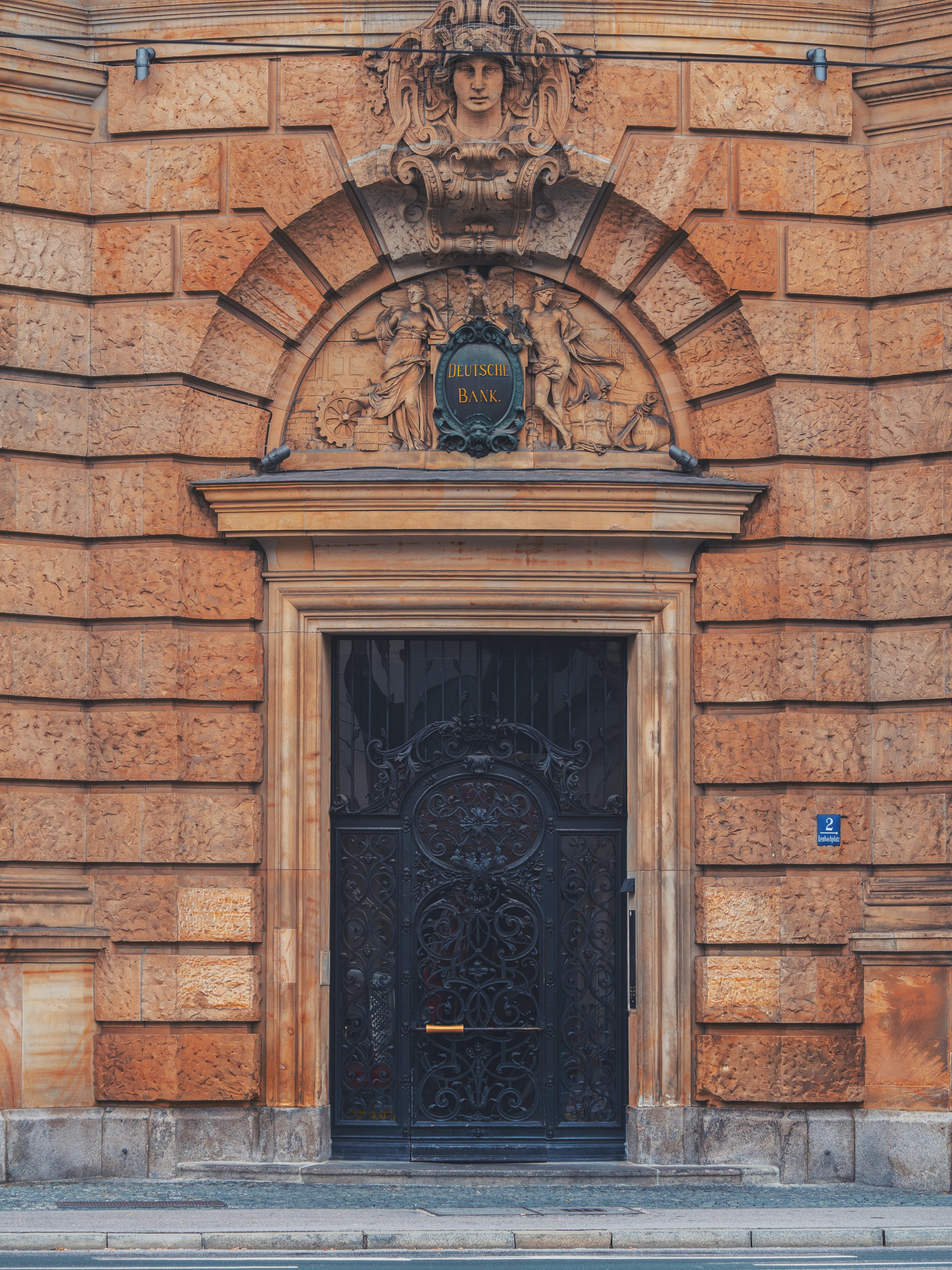 black and brown wooden door