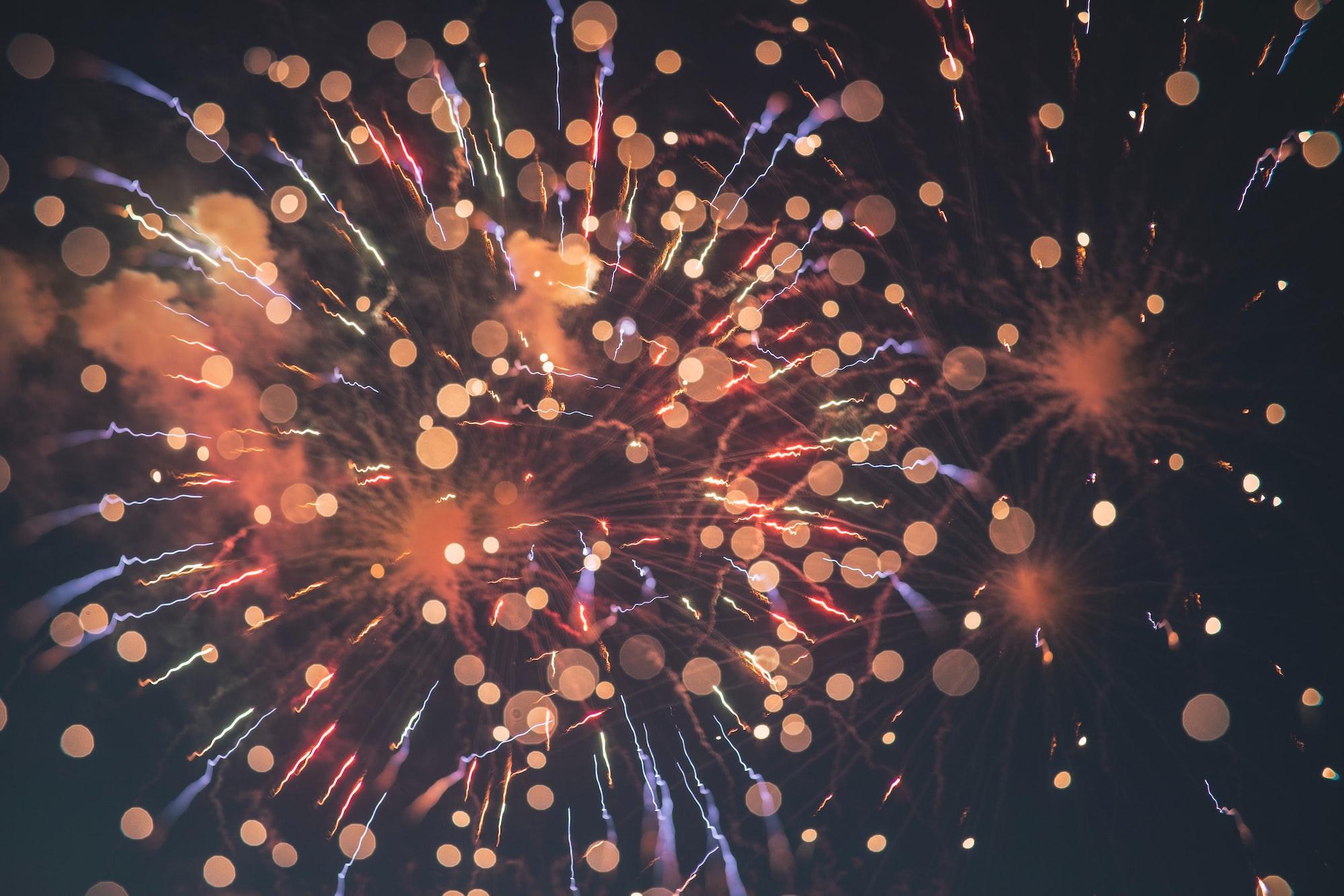 National day fireworks
