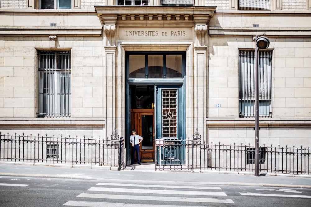 Universites de Paris building
