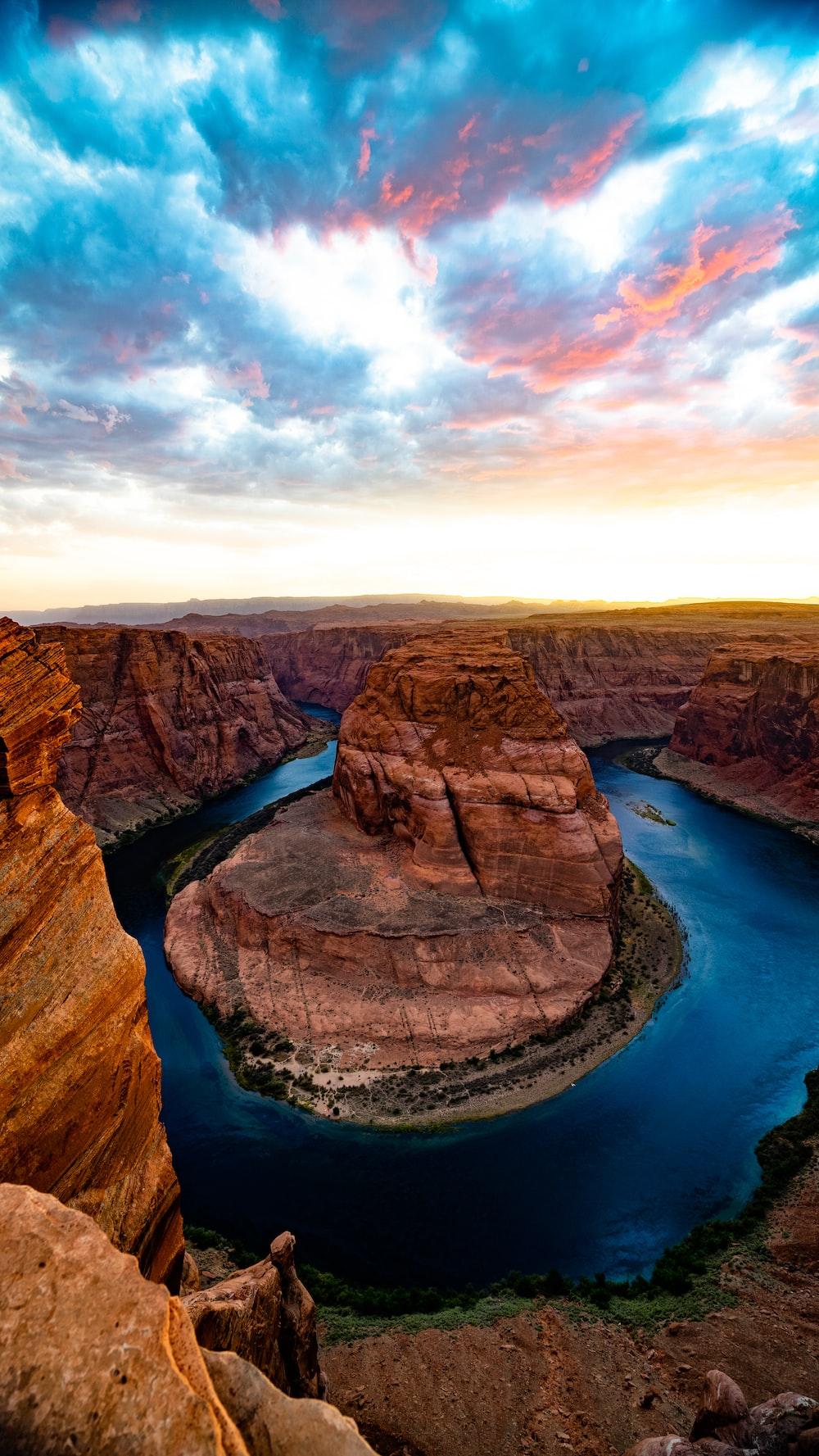 Grand Canyon Horseshoe river in Arizona
