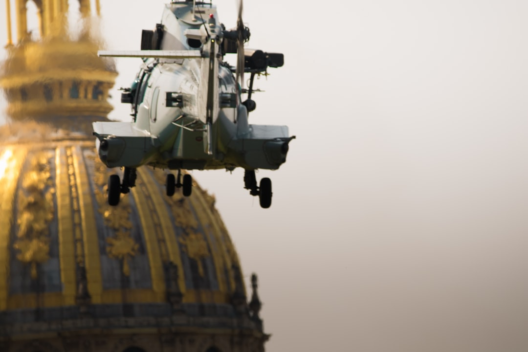 Here is a Helicopter by the french army, in action the 14 Juillet 2018.