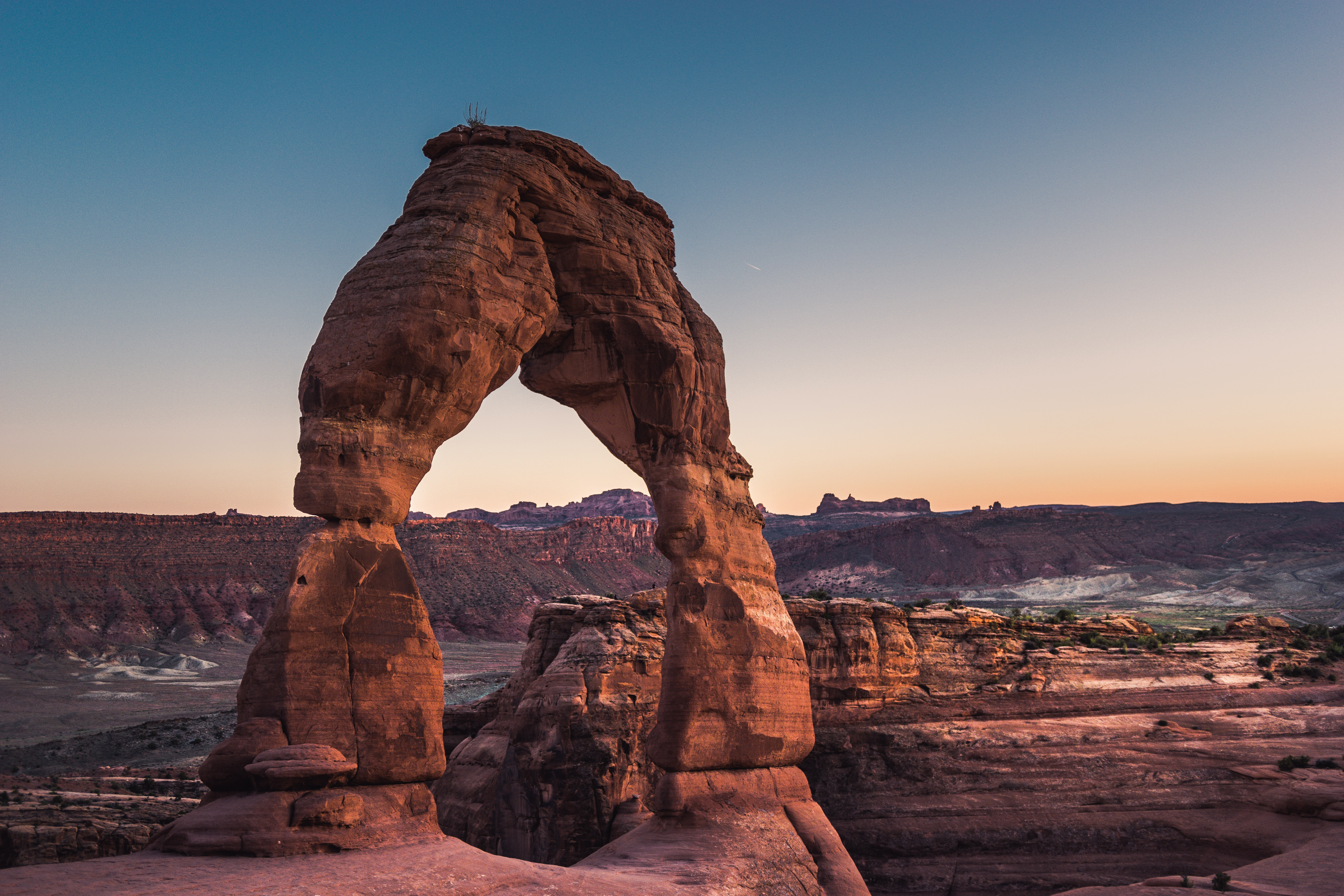 scenery of rock formation