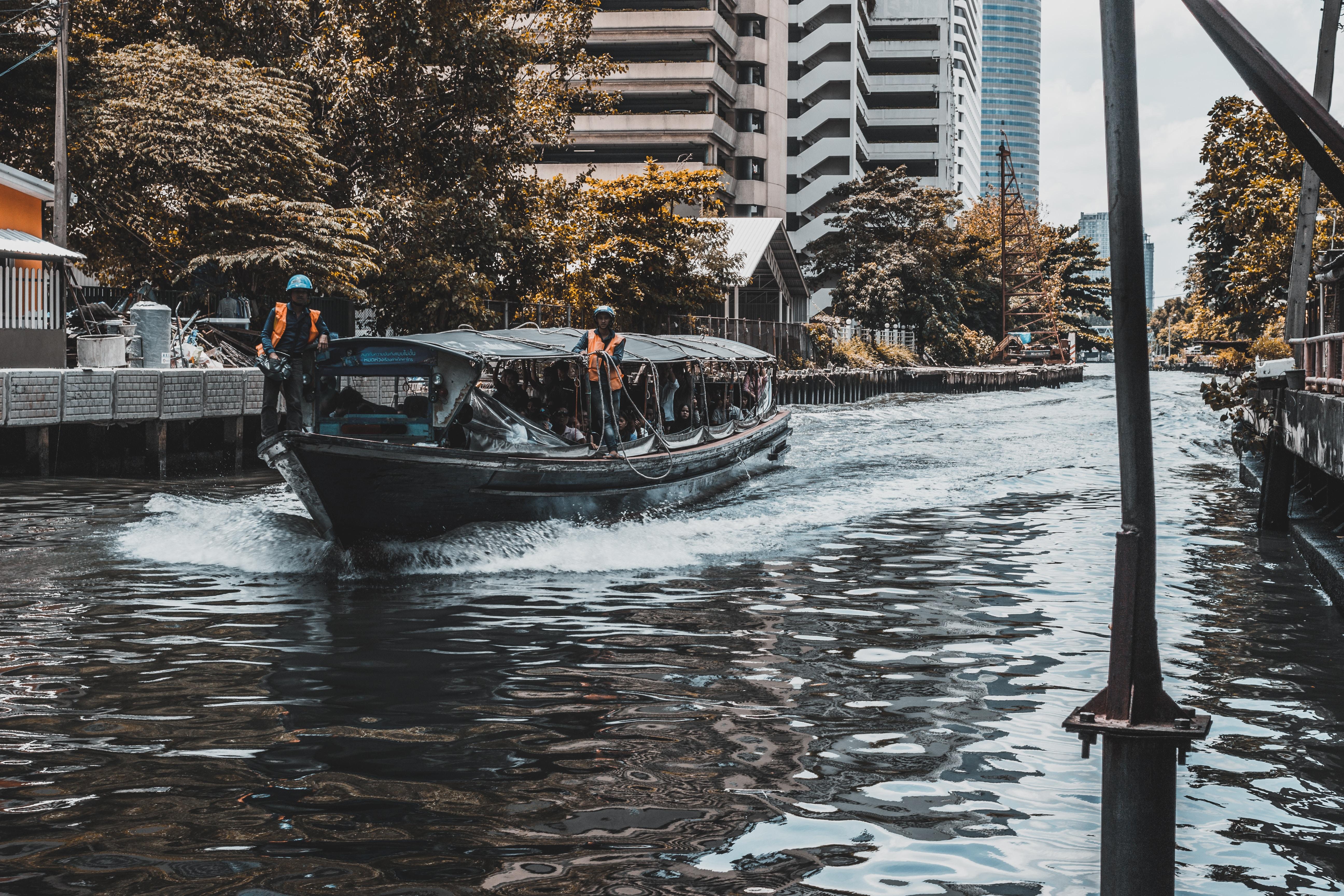 Khlong Canal Taxi in Bangkok, Thailand