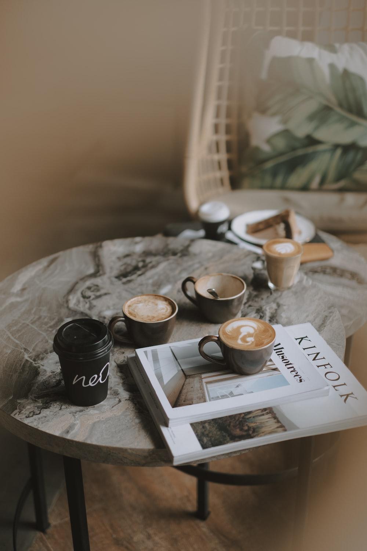 coffee latte on table