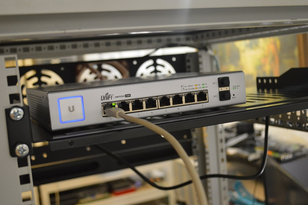 white ethernet switch