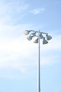patio lamp photo