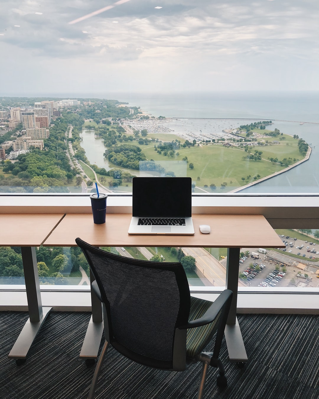 The view from my office at Northwestern Mutual in Milwaukee, WI.