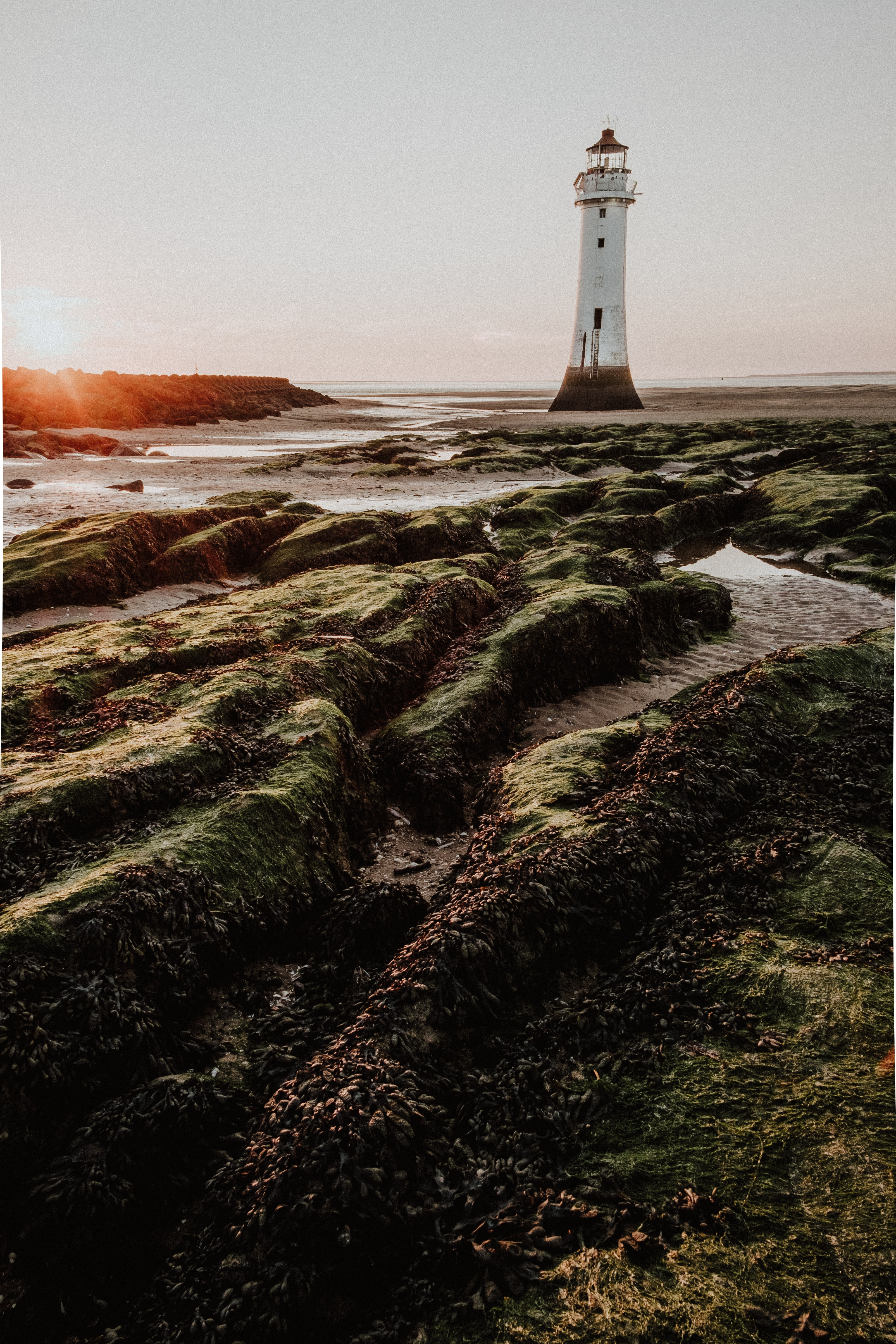 landscape photo of lighthouse