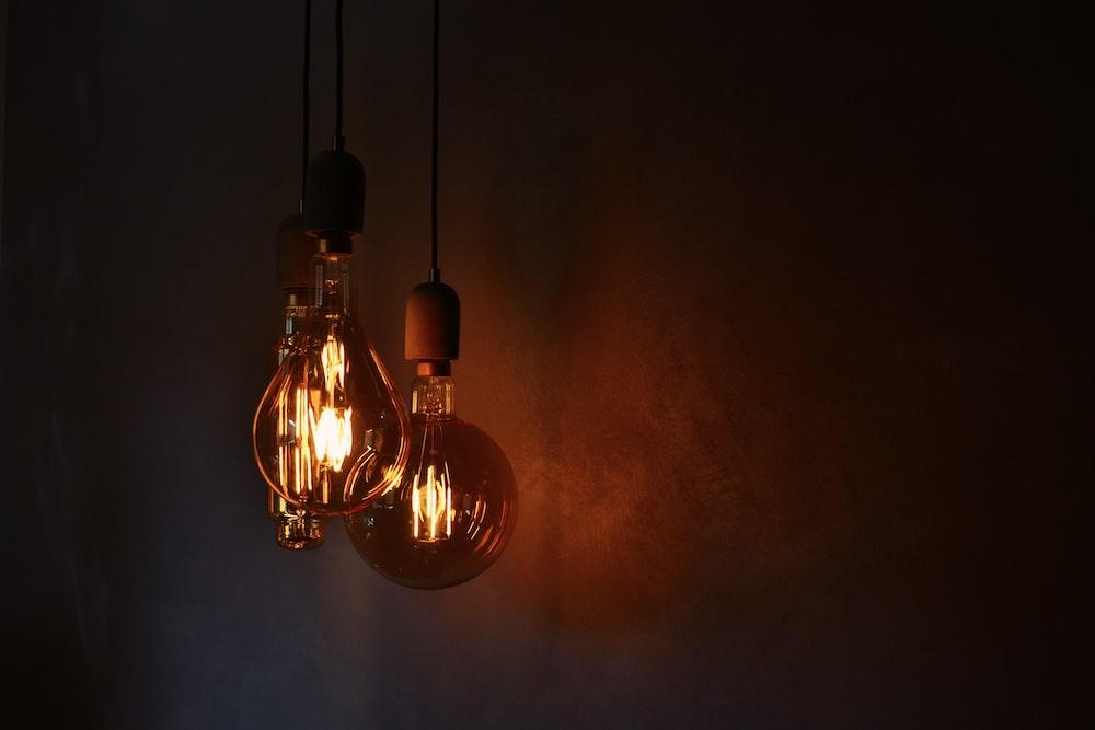 glass light bulb