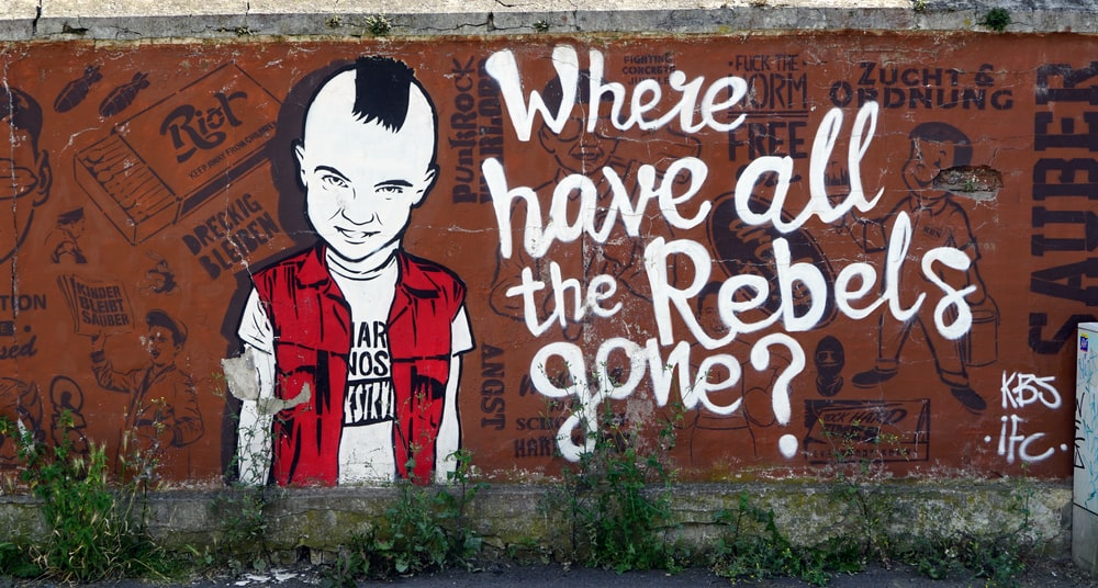 Where have all the rebels gone graffiti