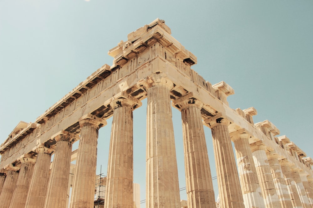 low angle photography of The Parthenon, Greece