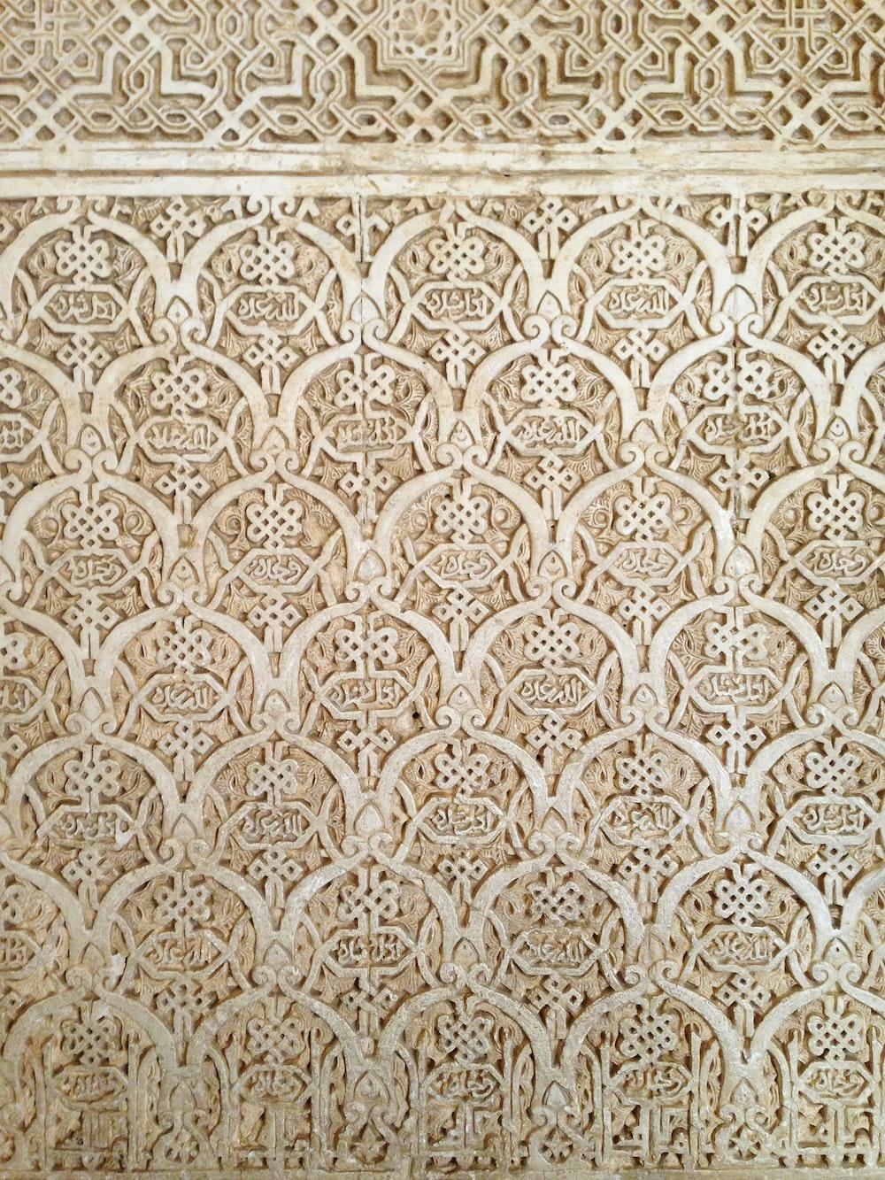 beige cutout wooden board