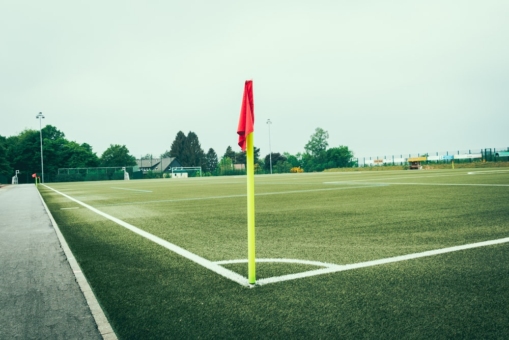 empty green stadium