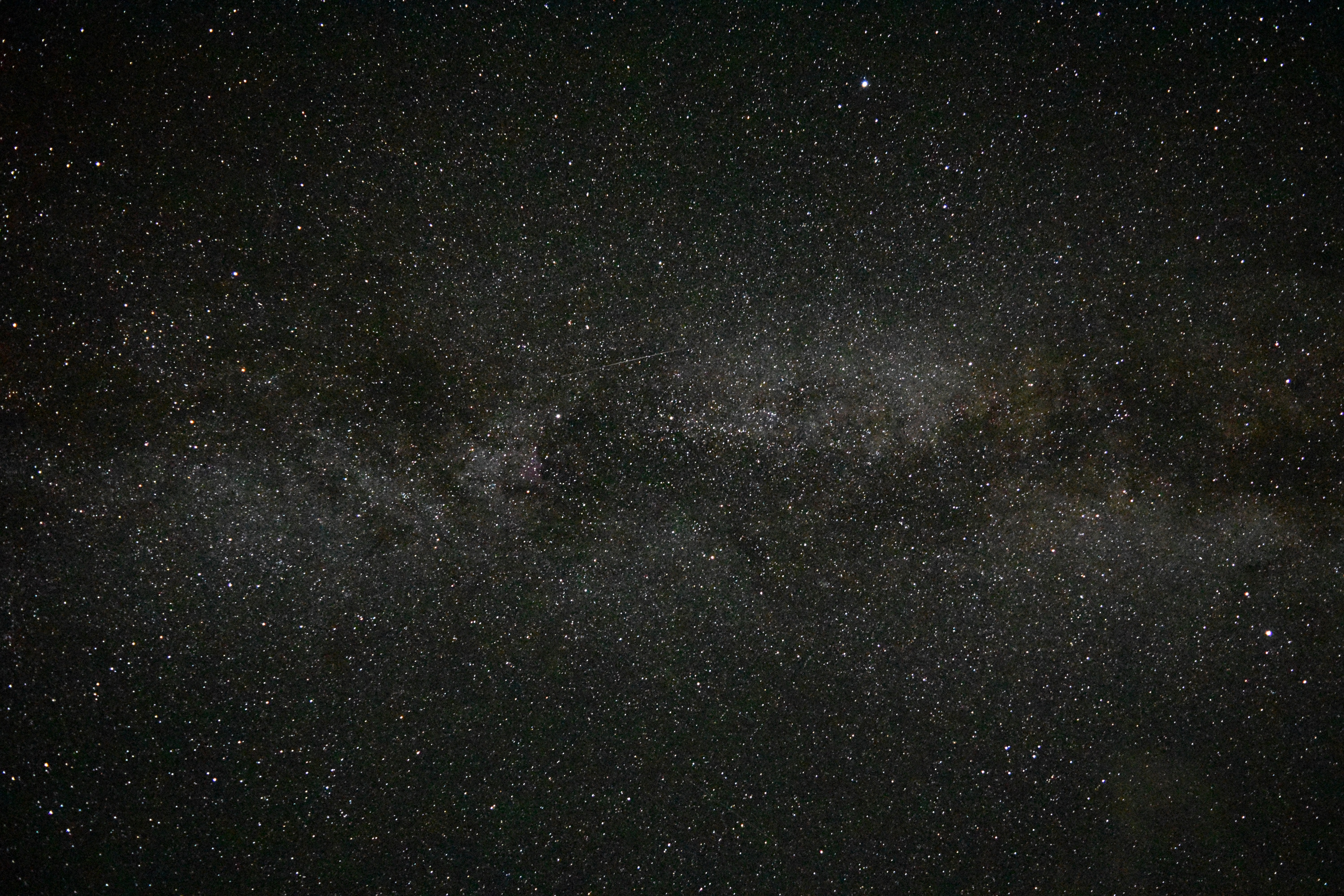 stars on sky with clouds