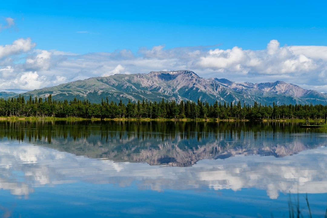 Reflections are always special, especially when there are Alaskan mountains around.