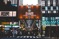 kanji text shop front