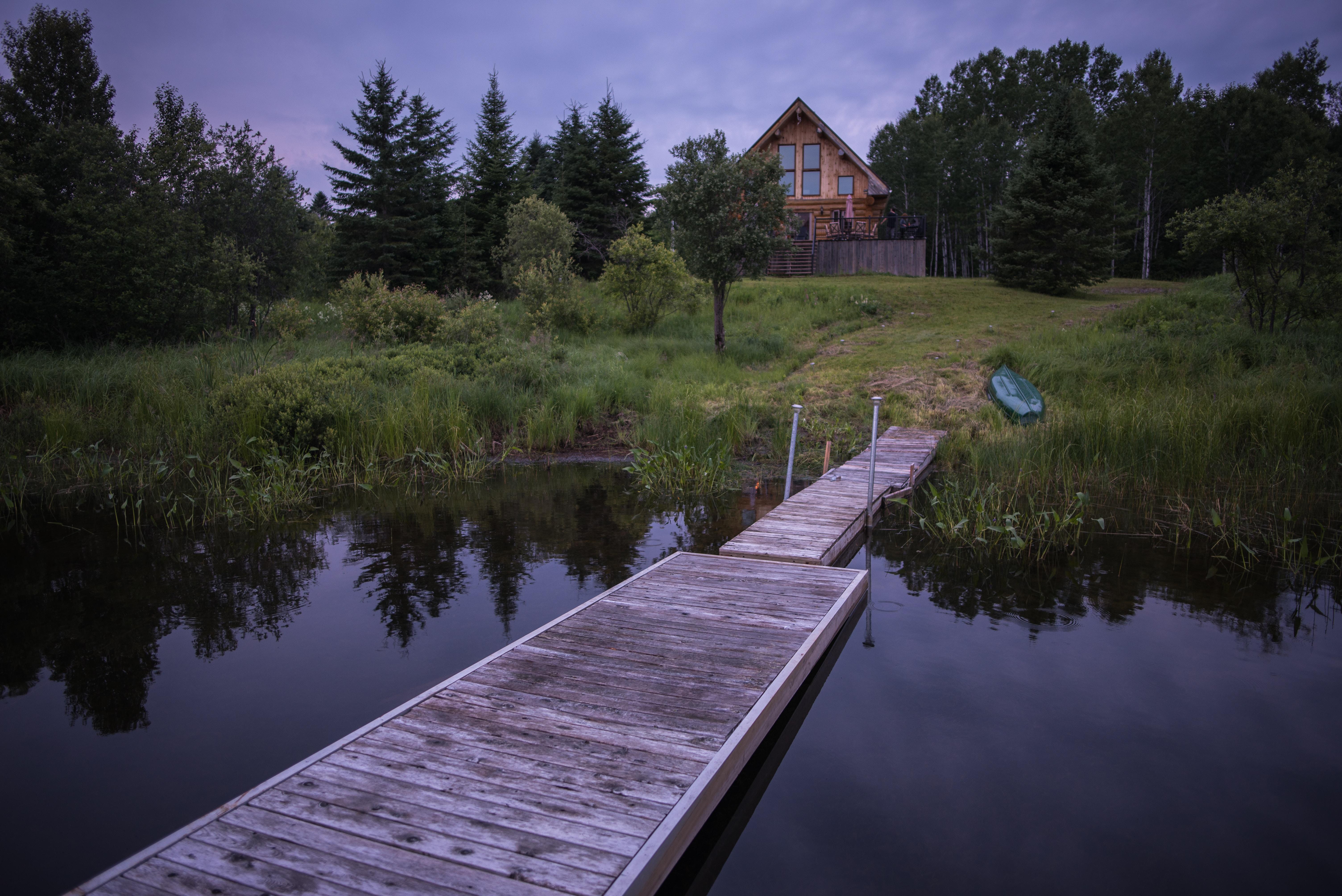 gray dock during daytime