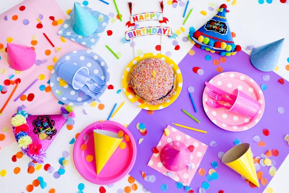 birthday decor lot