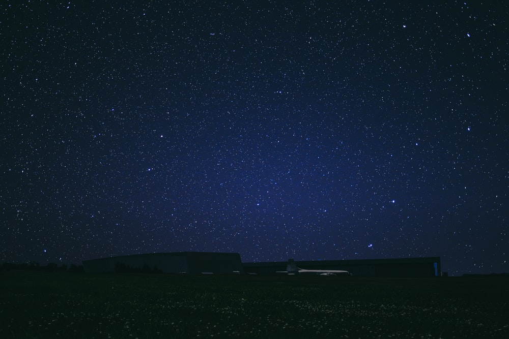 starry sky at night